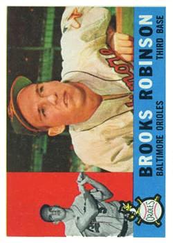 1960 Topps #28 Brooks Robinson