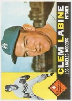 1960 Topps #29 Clem Labine