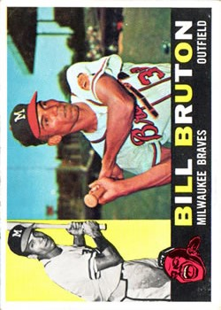1960 Topps #37 Bill Bruton
