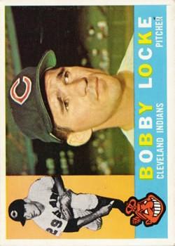 1960 Topps #44 Bobby Locke RC