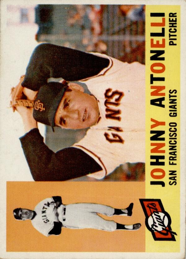 1960 Topps #80 Johnny Antonelli