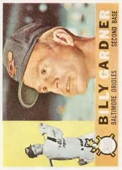 1960 Topps #106 Billy Gardner