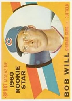1960 Topps #147 Bob Will RS