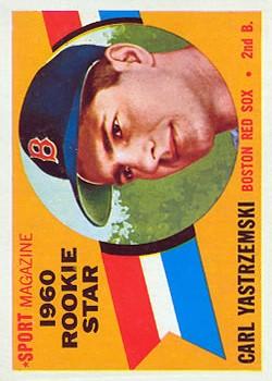 1960 Topps #148 Carl Yastrzemski RS RC