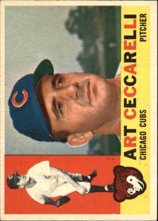 1960 Topps #156 Art Ceccarelli