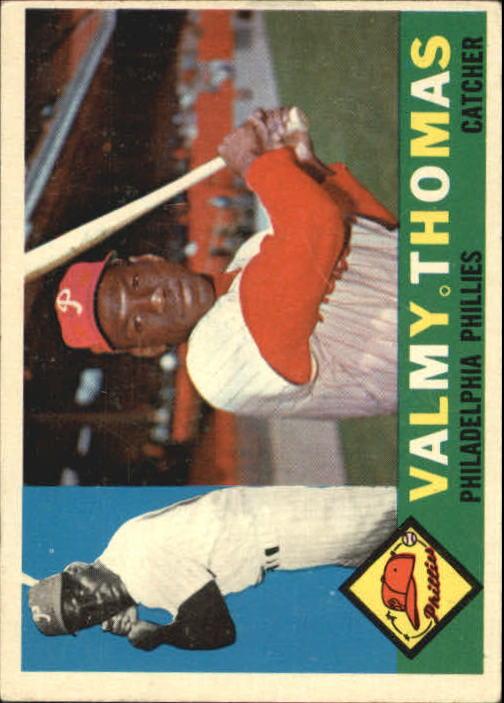 1960 Topps #167 Valmy Thomas