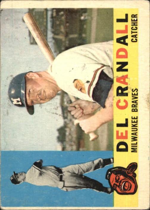1960 Topps #170 Del Crandall