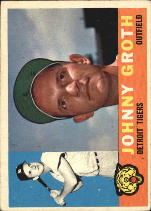 1960 Topps #171 Johnny Groth