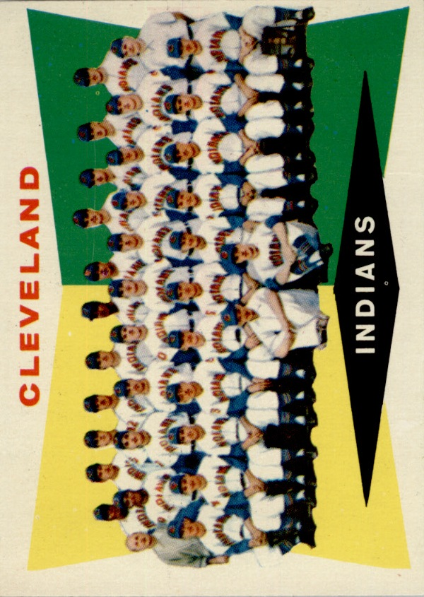 1960 Topps #174 Cleveland Indians CL