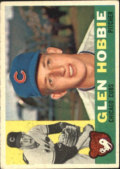 1960 Topps #182 Glen Hobbie