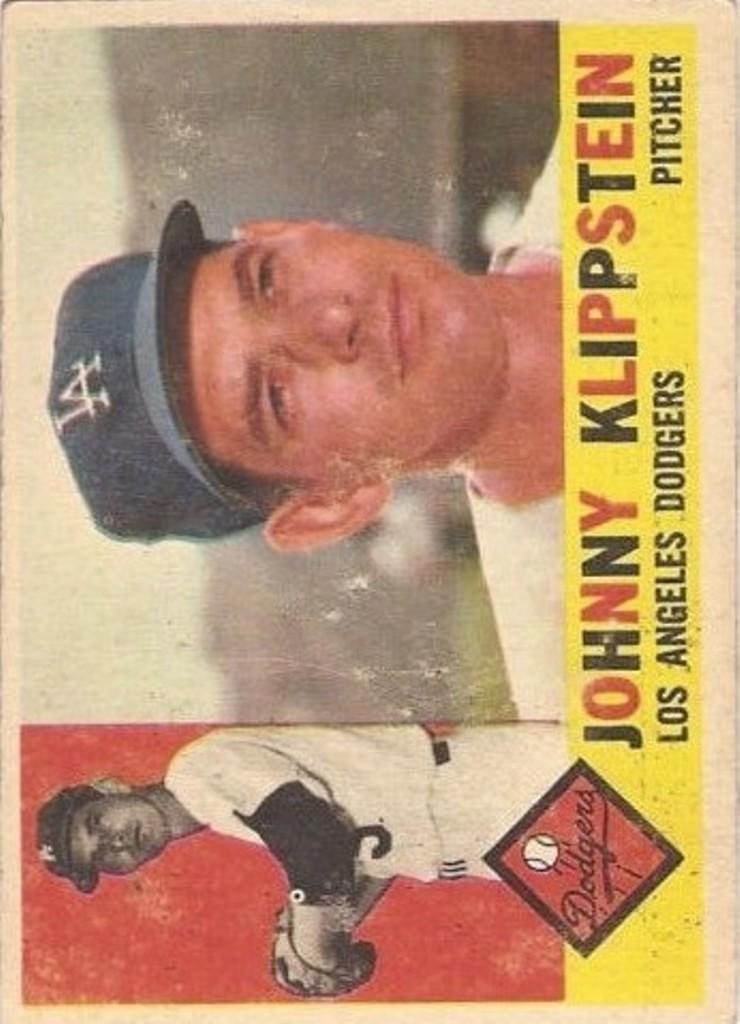 1960 Topps #191 Johnny Klippstein
