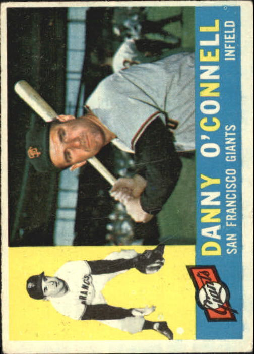 1960 Topps #192 Danny O'Connell