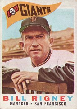 1960 Topps #225 Bill Rigney MG