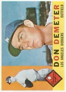 1960 Topps #234 Don Demeter