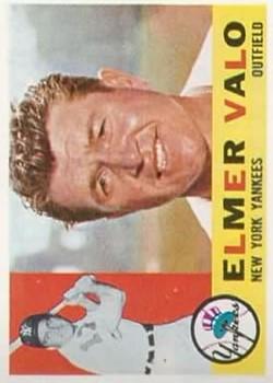 1960 Topps #237 Elmer Valo