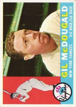 1960 Topps #247 Gil McDougald