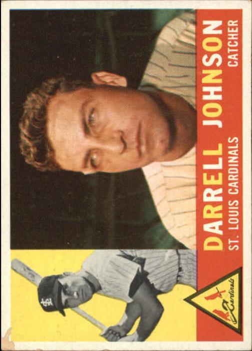 1960 Topps #263 Darrell Johnson