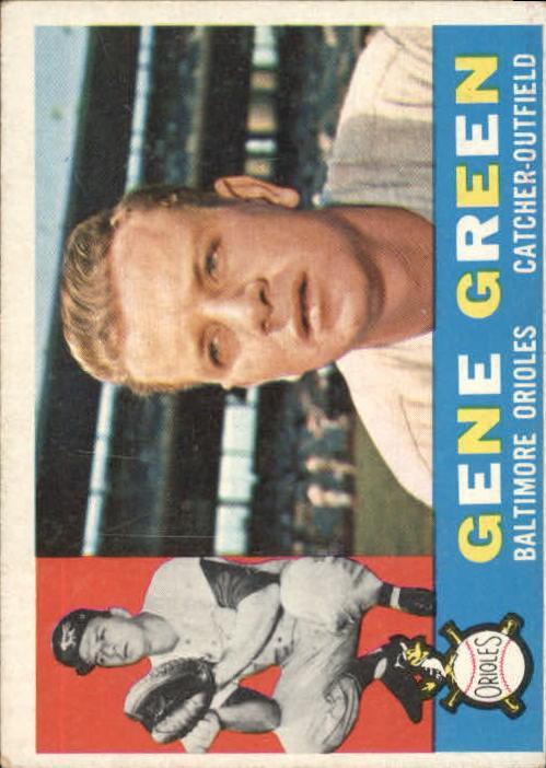1960 Topps #269 Gene Green