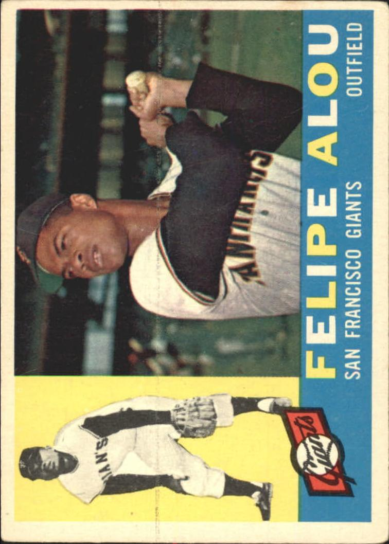 1960 Topps #287 Felipe Alou