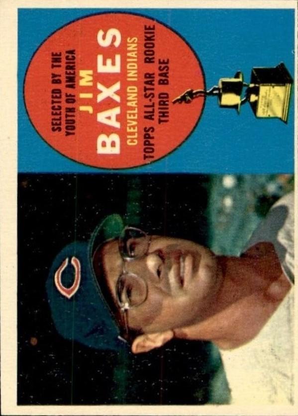 1960 Topps #318 Jim Baxes ASR