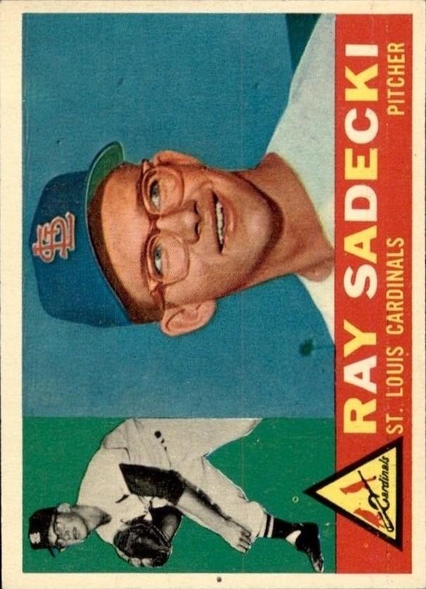 1960 Topps #327 Ray Sadecki RC