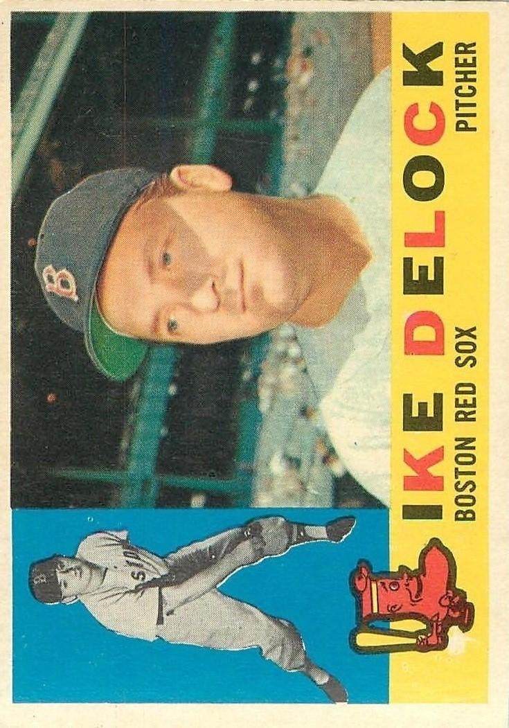 1960 Topps #336 Ike Delock