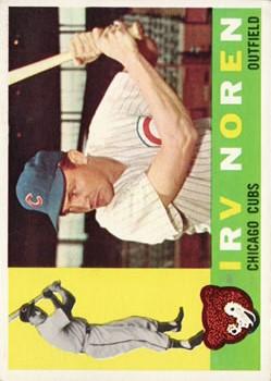1960 Topps #433 Irv Noren