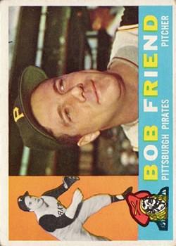 1960 Topps #437 Bob Friend