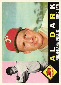 1960 Topps #472 Alvin Dark