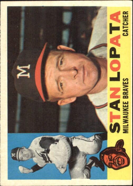 1960 Topps #515 Stan Lopata
