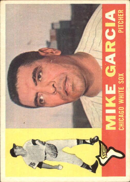 1960 Topps #532 Mike Garcia