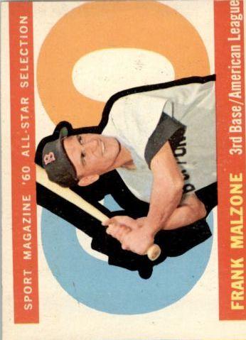 1960 Topps #557 Frank Malzone AS