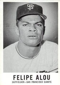 1960 Leaf #6 Felipe Alou