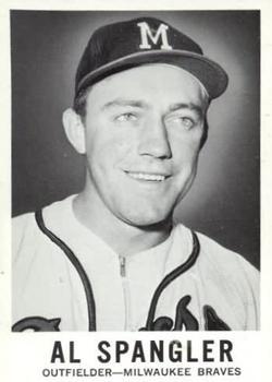 1960 Leaf #38 Al Spangler RC