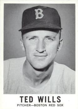 1960 Leaf #56 Ted Wills RC RC