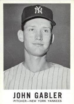 1960 Leaf #62 John Gabler RC