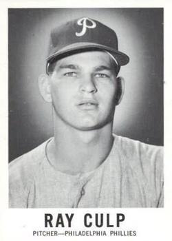 1960 Leaf #75 Ray Culp RC