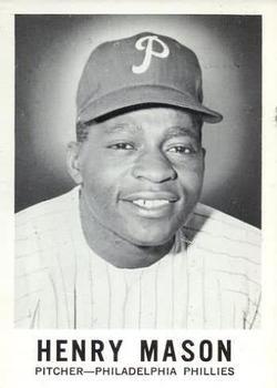1960 Leaf #80 Henry Mason RC