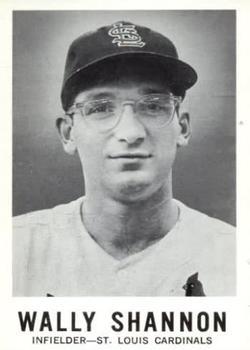 1960 Leaf #93 Wally Shannon RC