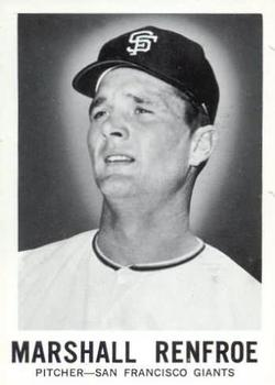 1960 Leaf #99 Marshall Renfroe RC