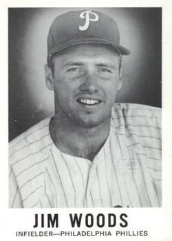 1960 Leaf #104 Jim Woods RC