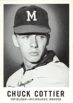 1960 Leaf #138 Chuck Cottier RC