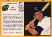 1961 Twins Peter's Meats #14 Billy Gardner