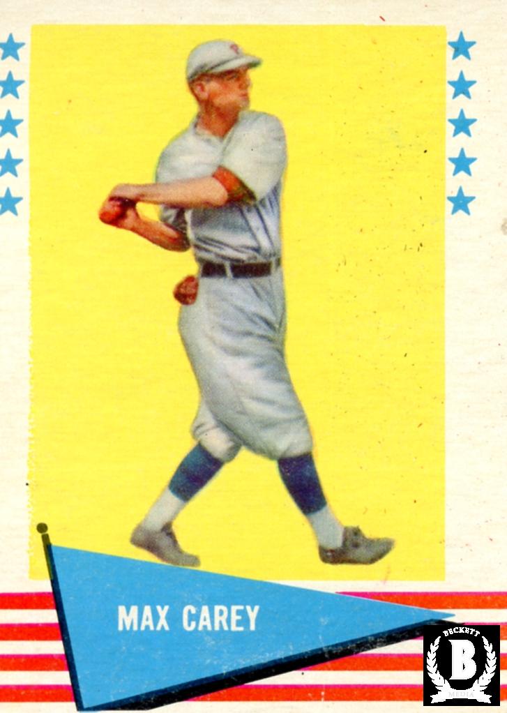 1961 Fleer #12 Max Carey