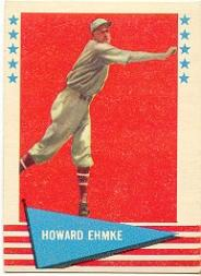 1961 Fleer #21 Howard Ehmke
