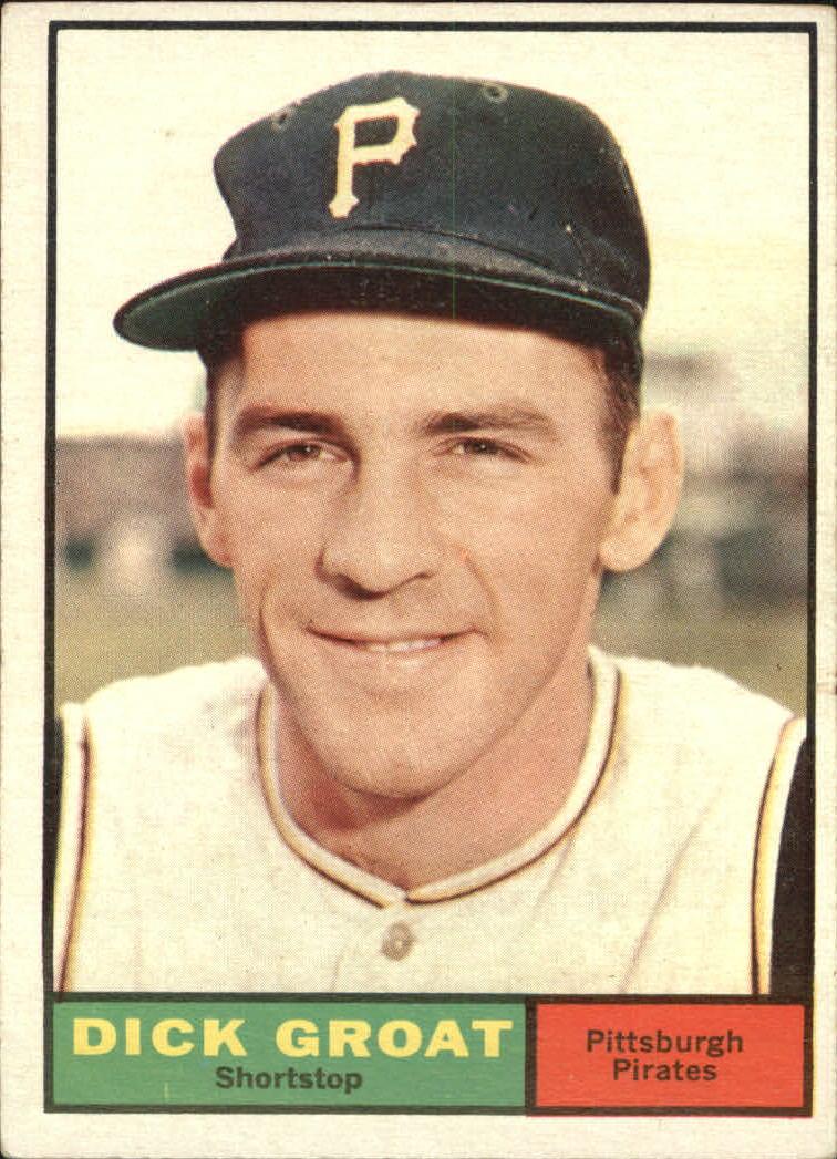 1961 Topps #1 Dick Groat