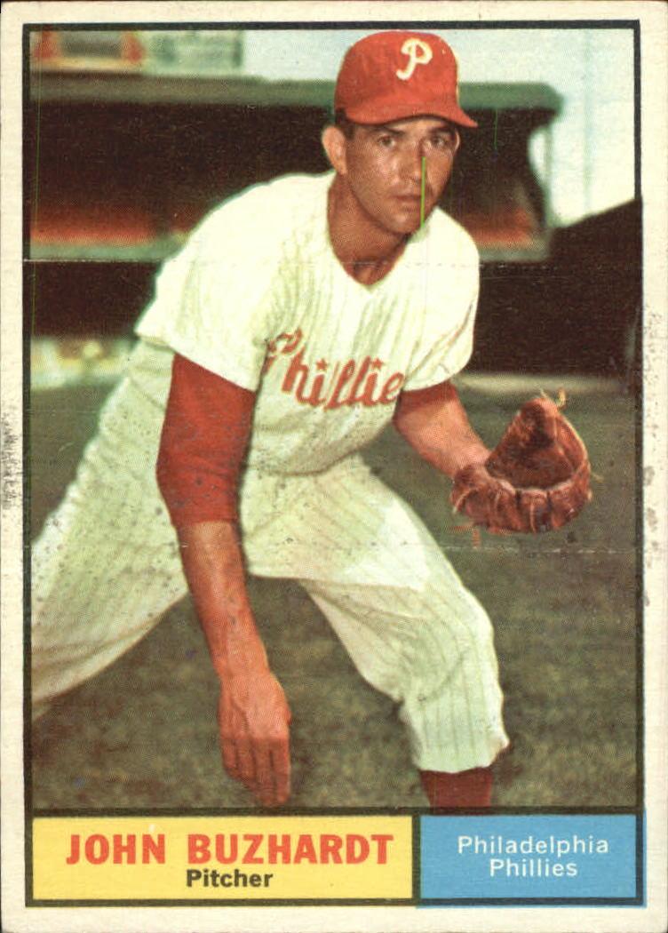1961 Topps #3 John Buzhardt