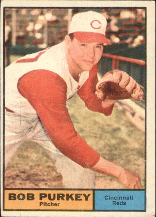 1961 Topps #9 Bob Purkey