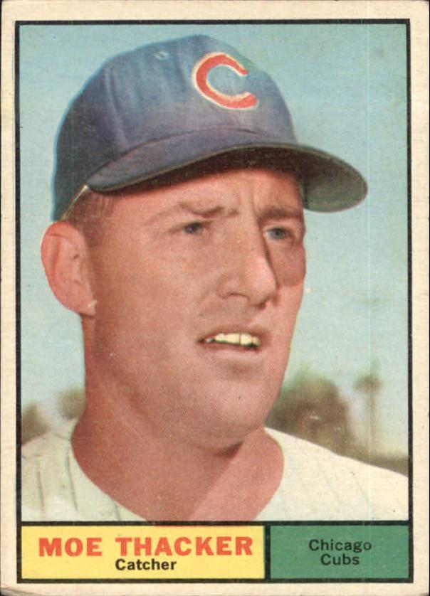 1961 Topps #12 Moe Thacker