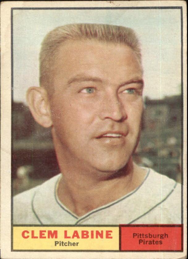 1961 Topps #22 Clem Labine